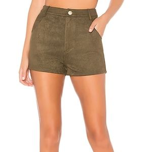 ❤[3/$35] About Us Faux Suede High Waist Shorts